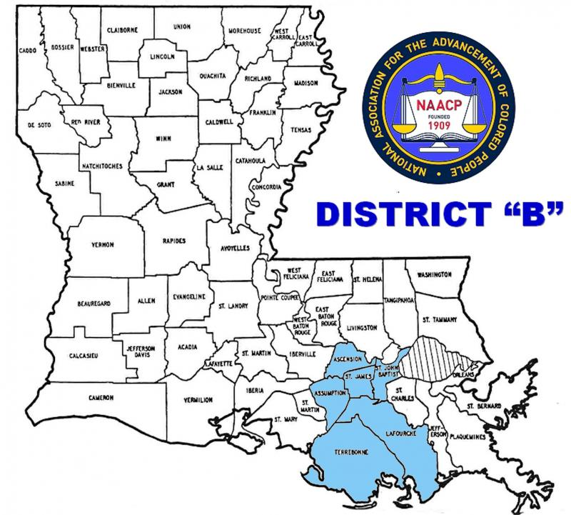 "District ""B"" Map"