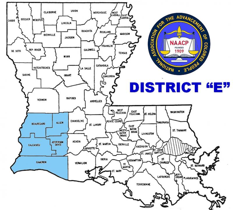 "District ""E"" Map"